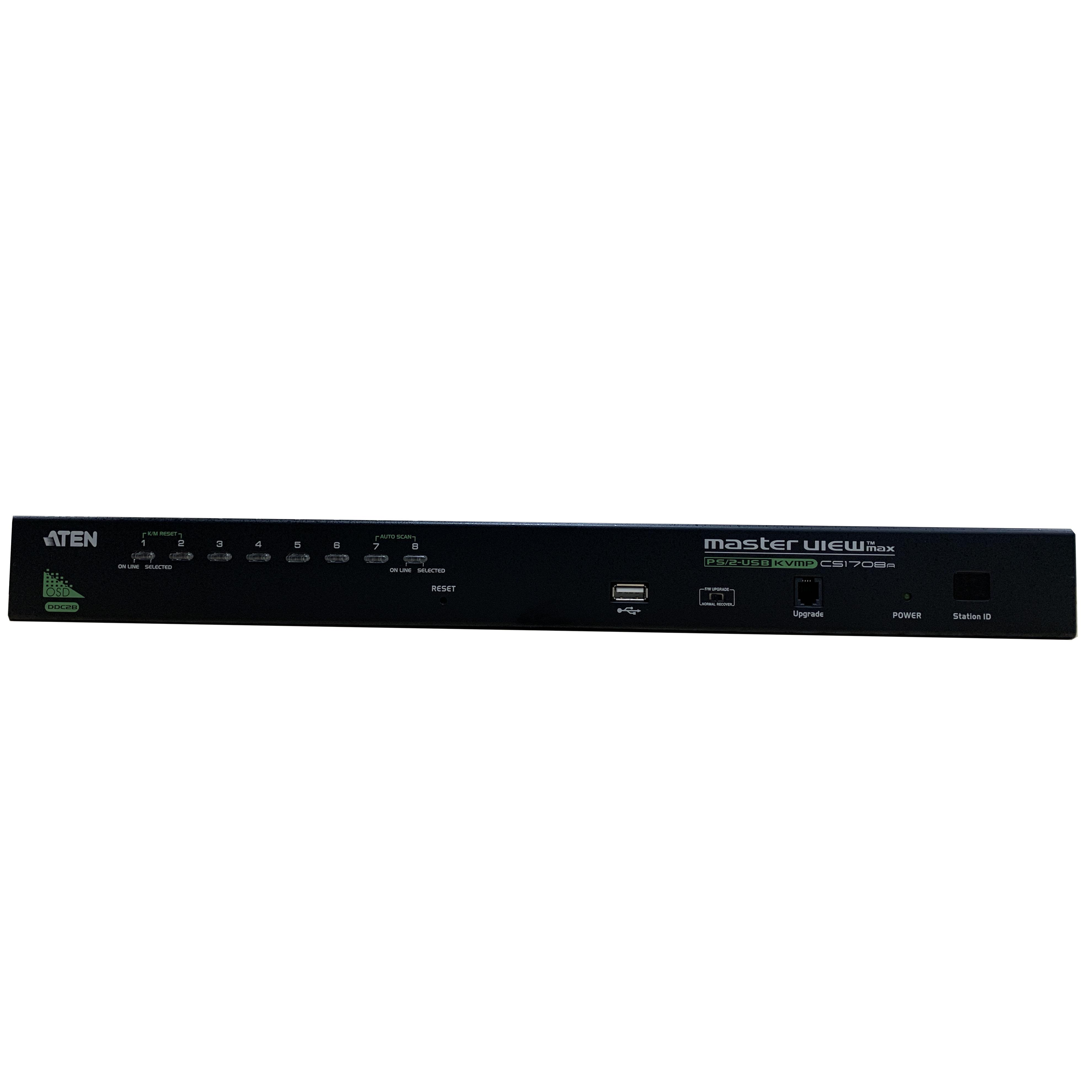 Bộ chuyển đổi KVM Switch PS/2-USB VGA 8 port  - Aten CS1708A - Hàng chính hãng