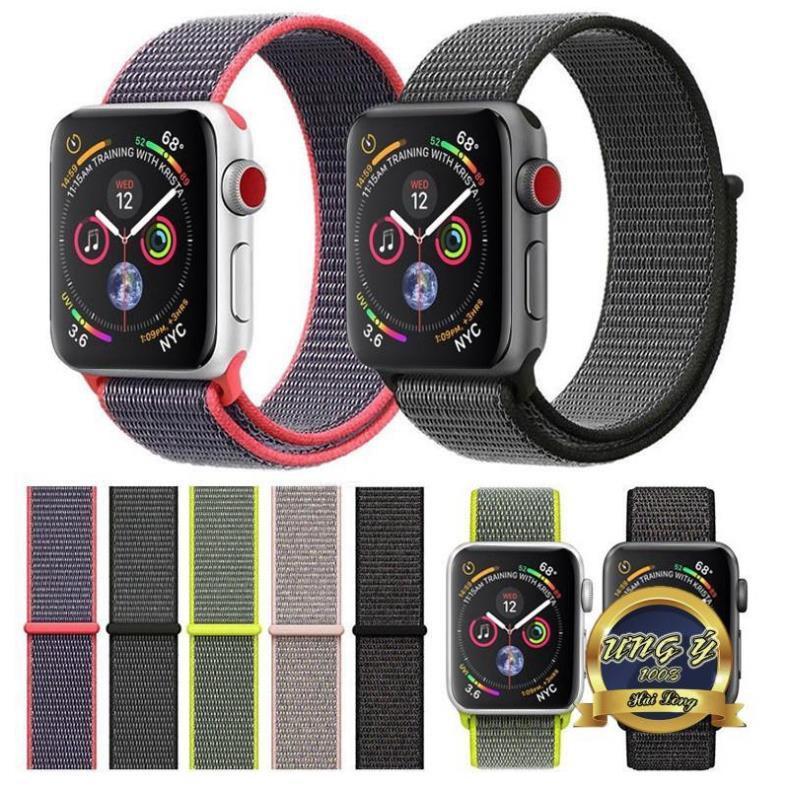 Dây Nylon Apple Watch 1 màu, đủ size 38/40mm 42/44mm MHIUY20