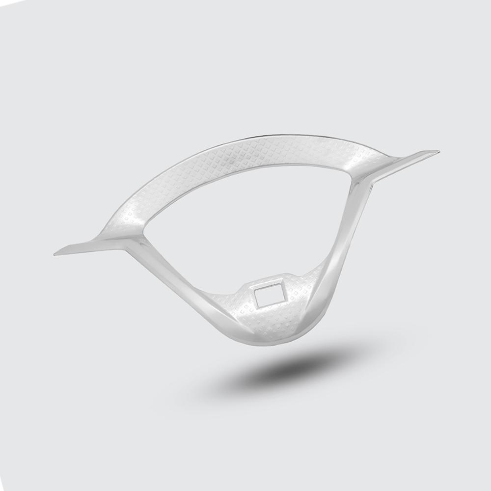 Ốp Viền Đồng Hồ Dành Cho VISION 2021 Nhựa Xi + Tặng 01 Móc Gắng Chìa Khóa Xe Ngẫu Nhiên