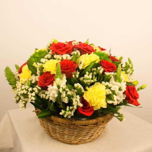 Giỏ hoa tươi - Năng lượng mới 3987