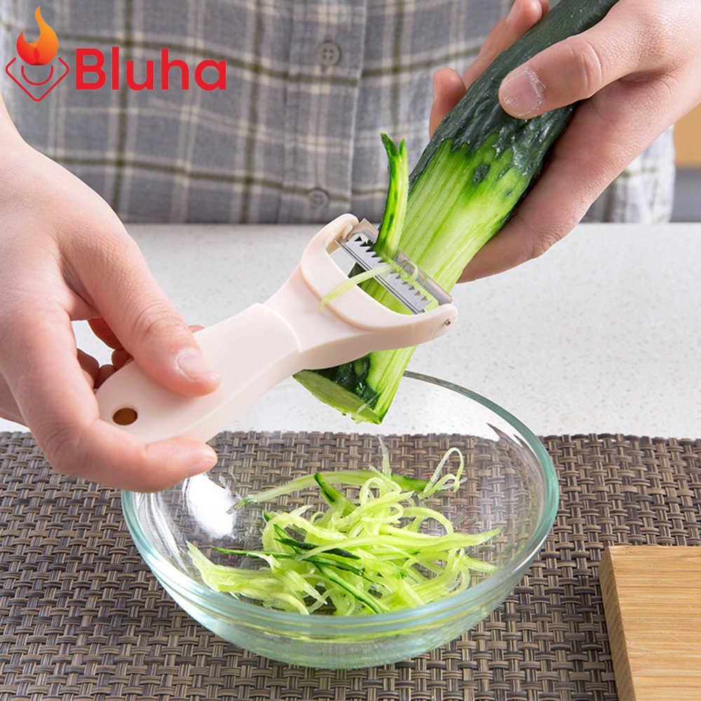 Dụng cụ Nạo Hoa Quả 2 Trong 1 Đa Năng - Bào Củ quả cầm tay nhỏ gọn