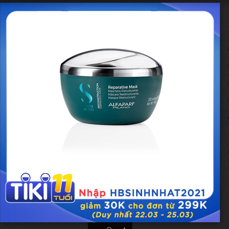 Mặt nạ Reconstruction phục hồi tóc hư tổn premium 200ml