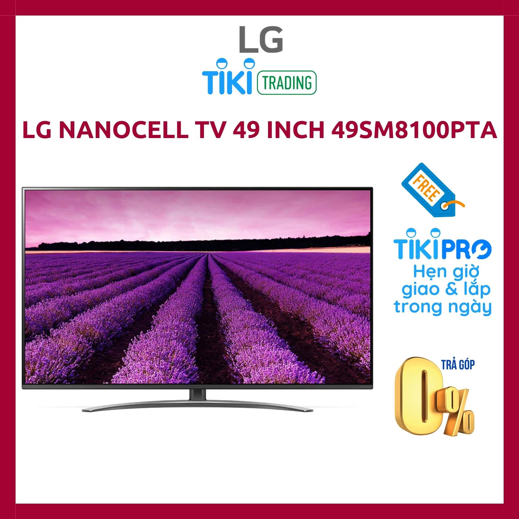 Hình ảnh Smart Tivi LG 4K 49 inch 49SM8100PTA