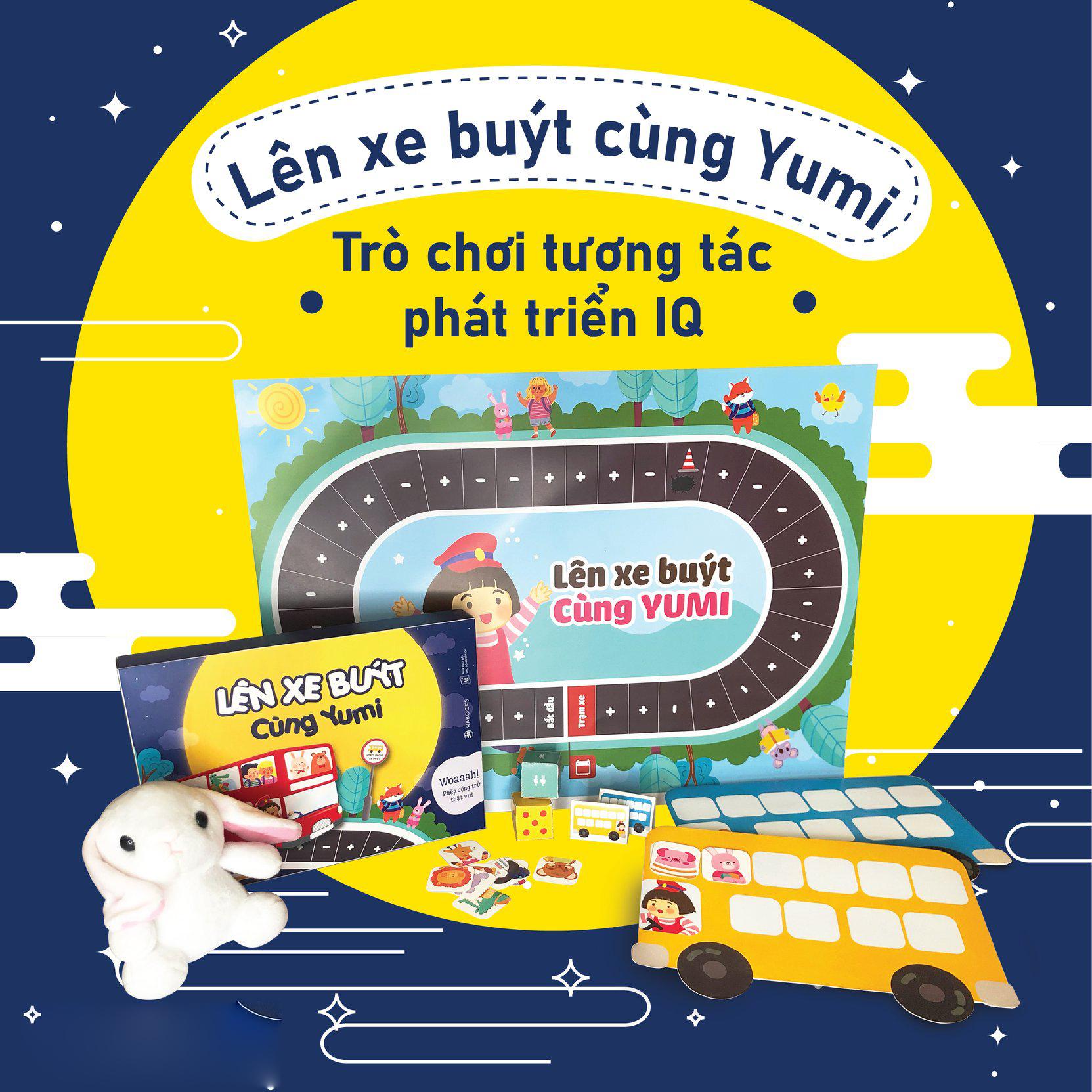 Combo ehon cho bé từ 2 tuổi: Tớ Là Em Bé Ngoan + Lên Xe Buýt Cùng Yumi + Em Bé Ngoan Đâu Rồi Nhỉ