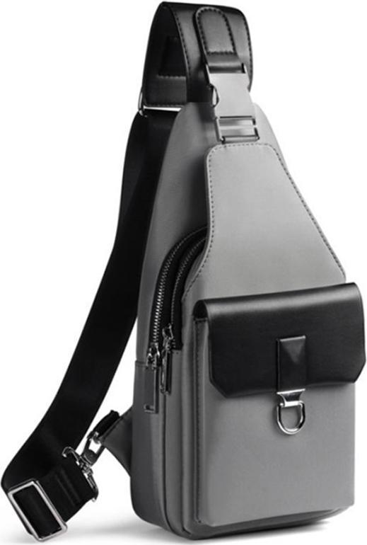 Túi đeo chéo nam RE0272 - Xám