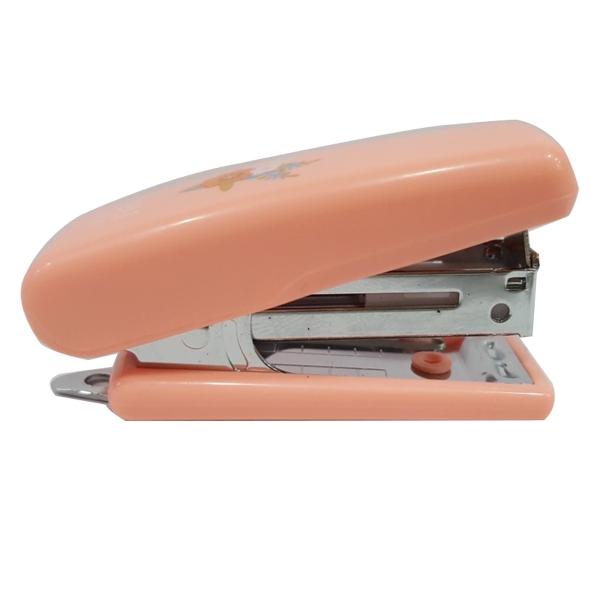 Bộ 2 Dập Ghim 10 Mini Deli 0222 - Màu Hồng