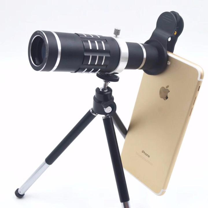 Ống kính Zoom xa 18x Mobile Telephoto Lens cho điện thoại