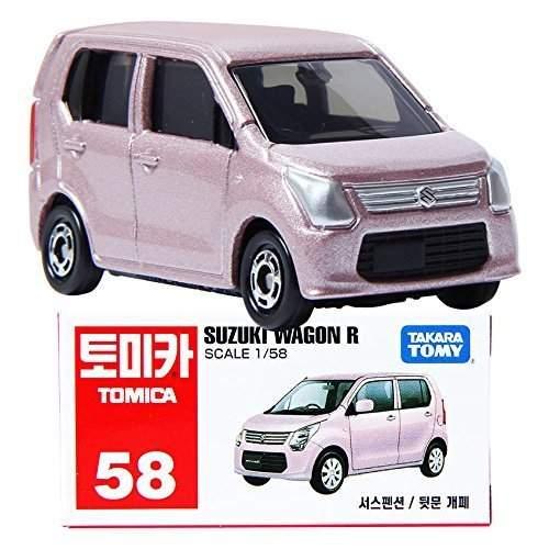 Đồ chơi xe mô hình Tomica Tomica  Box No.58 Suzuki Wagon R