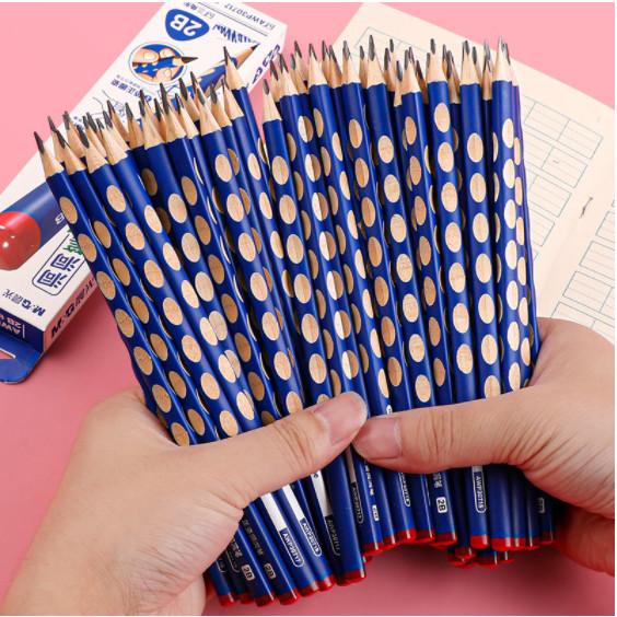 Bút chì khắc định vị M&G AWP30717 2B màu xanh
