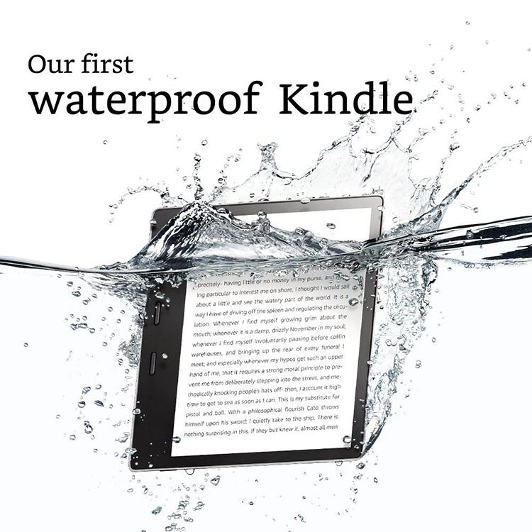 Máy Đọc Sách Kindle Oasis 32G - Hàng Nhập Khẩu - Xám   Tiki