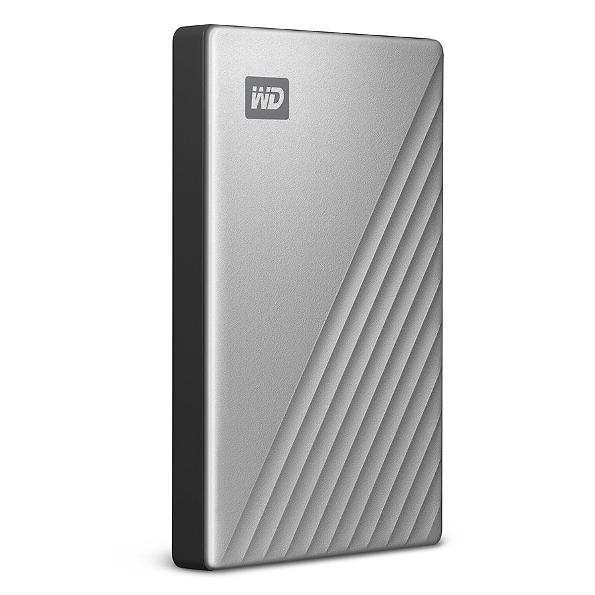 Ổ Cứng Di Động WD My Passport Ultra 4TB USB Type C - Màu Bạc - Box Tiếng Anh -  Hàng Nhập Khẩu