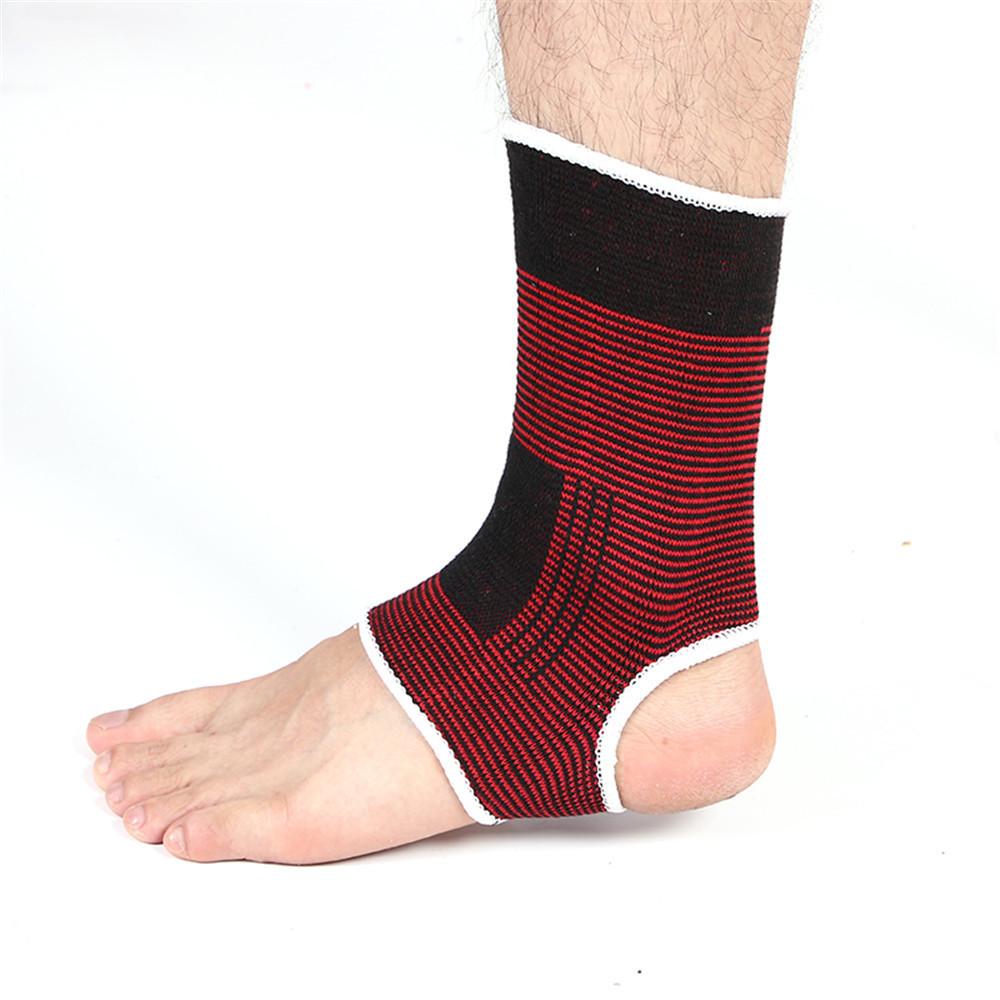 Vớ bảo hộ cổ chân - Đỏ/đen