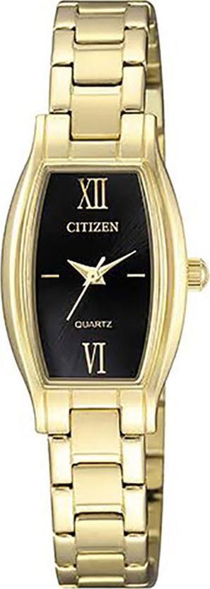 Đồng Hồ Citizen Nữ Dây Kim Loại Pin-Quartz EJ6112-52E - Mặt Đen (19x32mm)