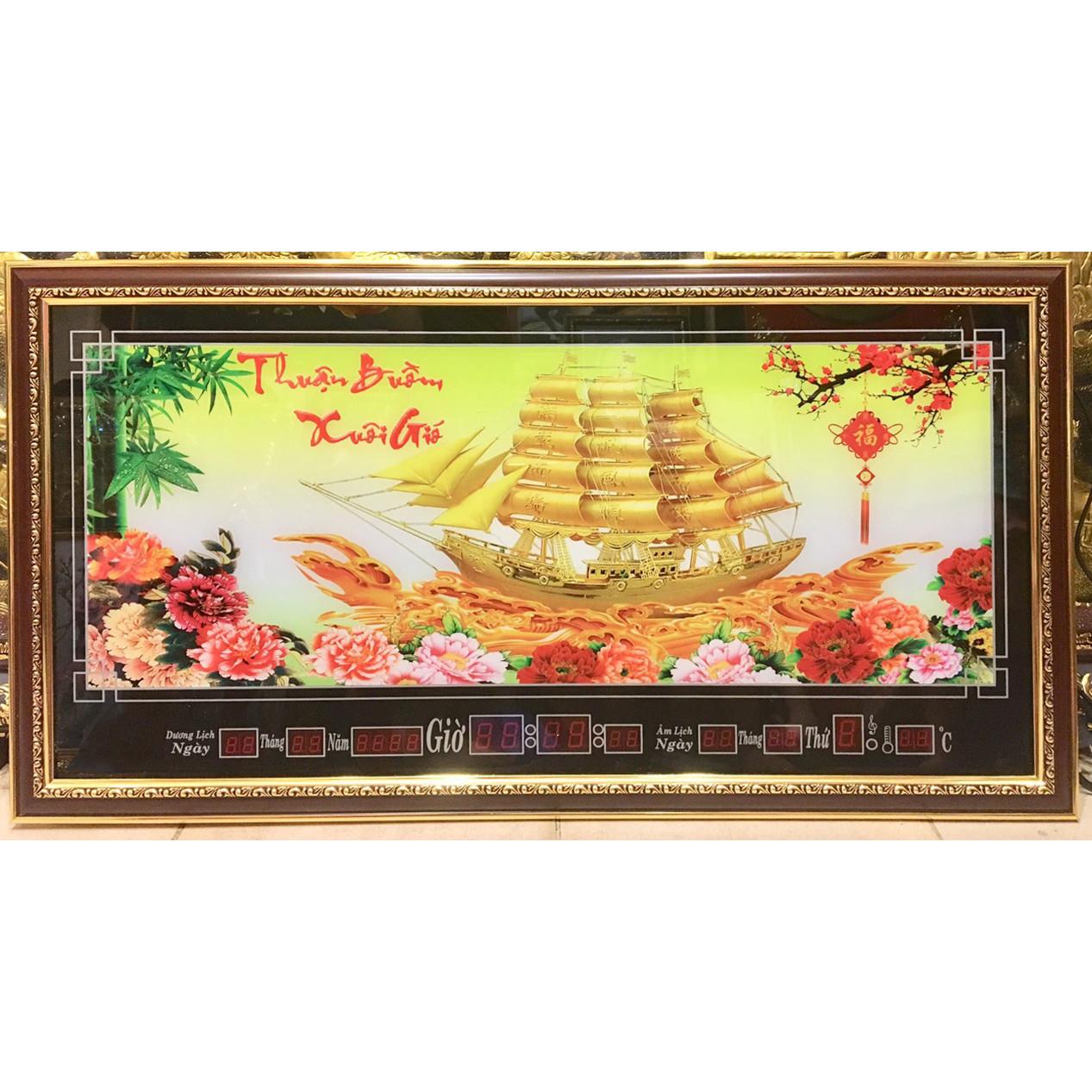 Tranh lịch Thuận buồm xuôi gió - MS437