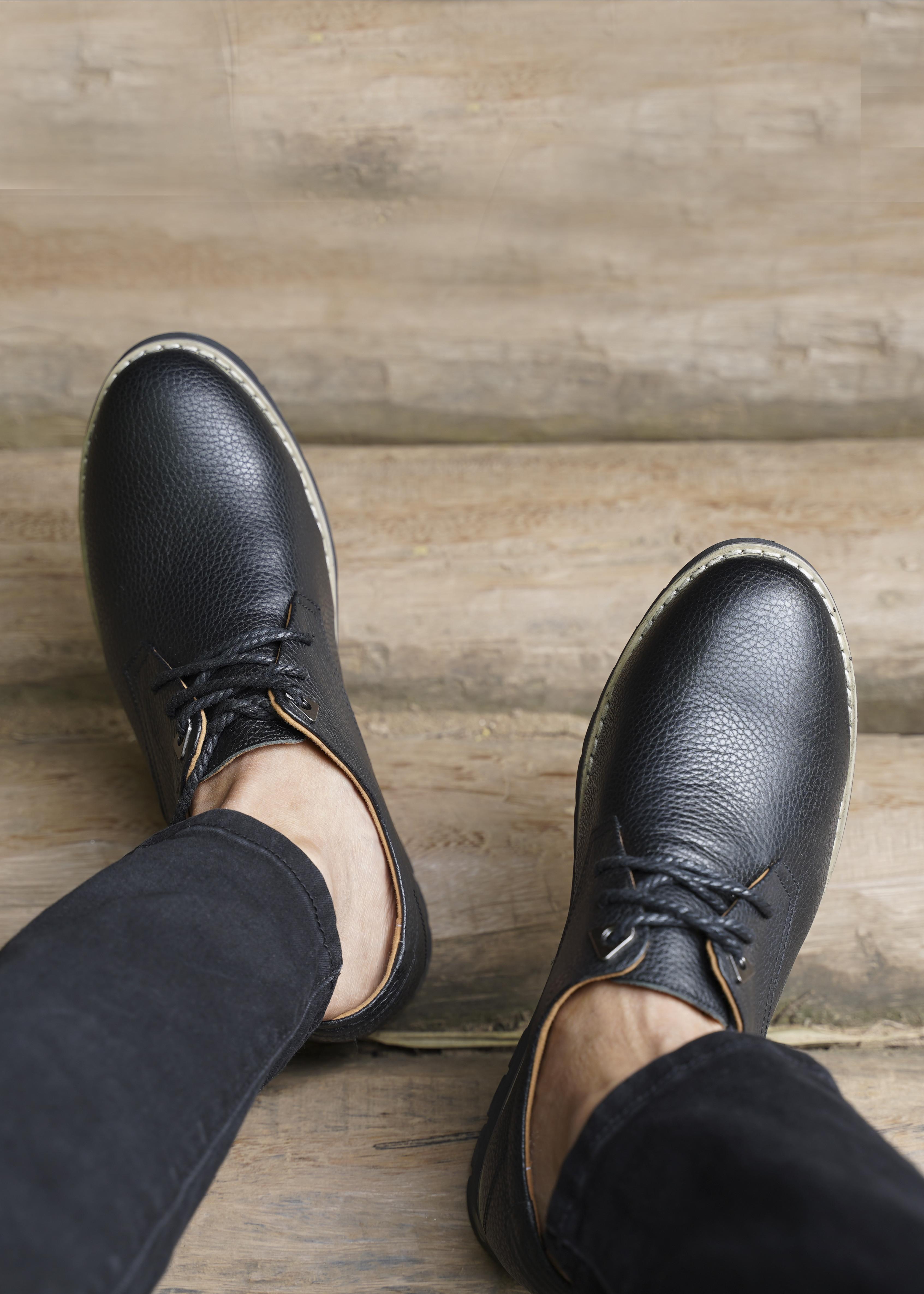 Giày Tây Nam Tăng Chiều Cao Da Bò Mã GC01