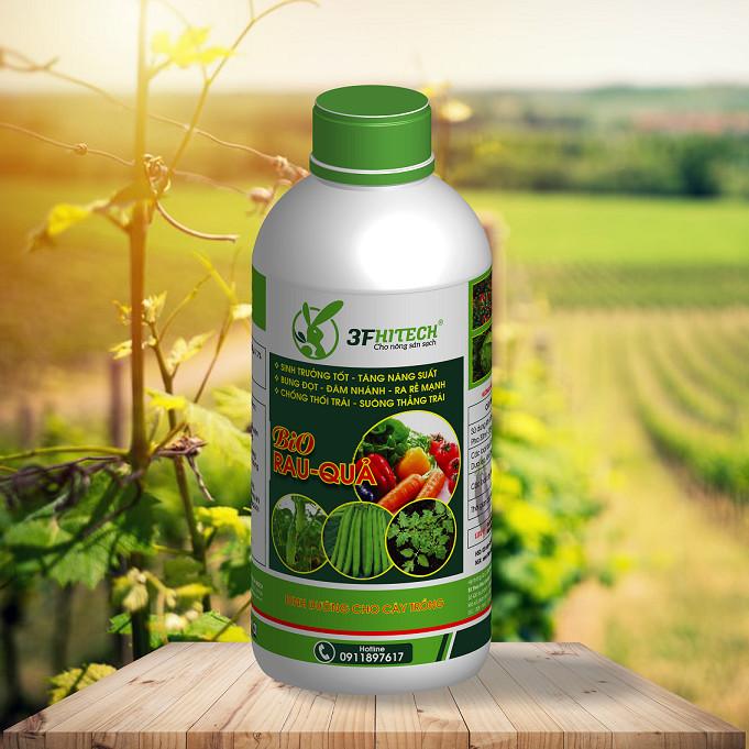 Phân hữu cơ cho rau - Bio Rau Quả