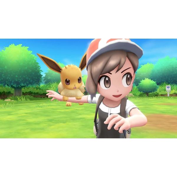 Đĩa game Pokemon: Let's Go, Eevee! cho máy nintendo switch - new nguyên seal - Hàng nhập khẩu