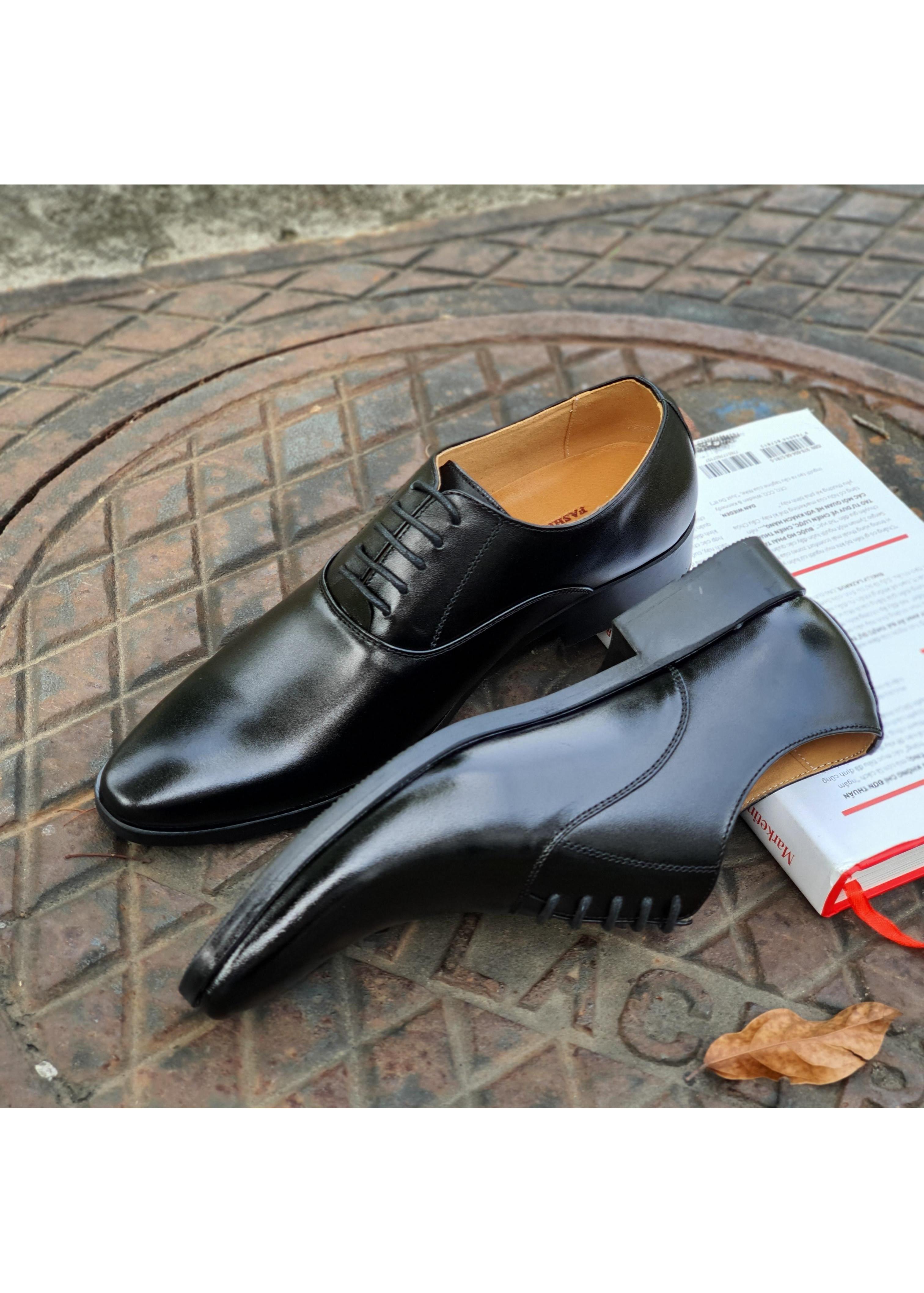Giày Dây Nam Da Bò Thật Cao Cấp DYSEVEN Mẫu Mới, Hàng Chuẩn