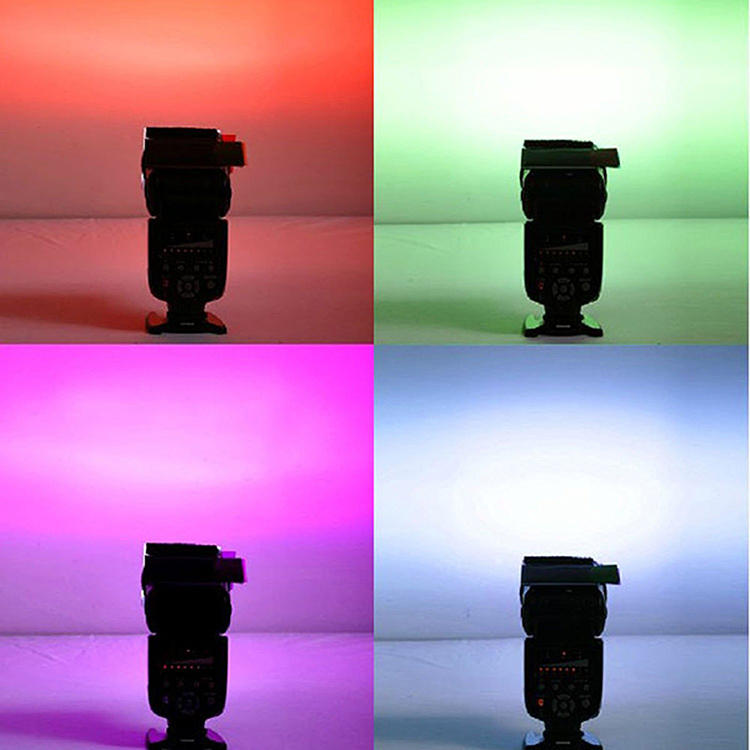 Bộ Gel 12 Màu For Flash Speedlite
