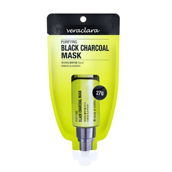 Mặt Nạ Than Hấp Thụ Chất Thải, Loại Bỏ Mụn Và Làm Sạch Da ( Veraclara Purifying Black Charcoal Mask) 27g