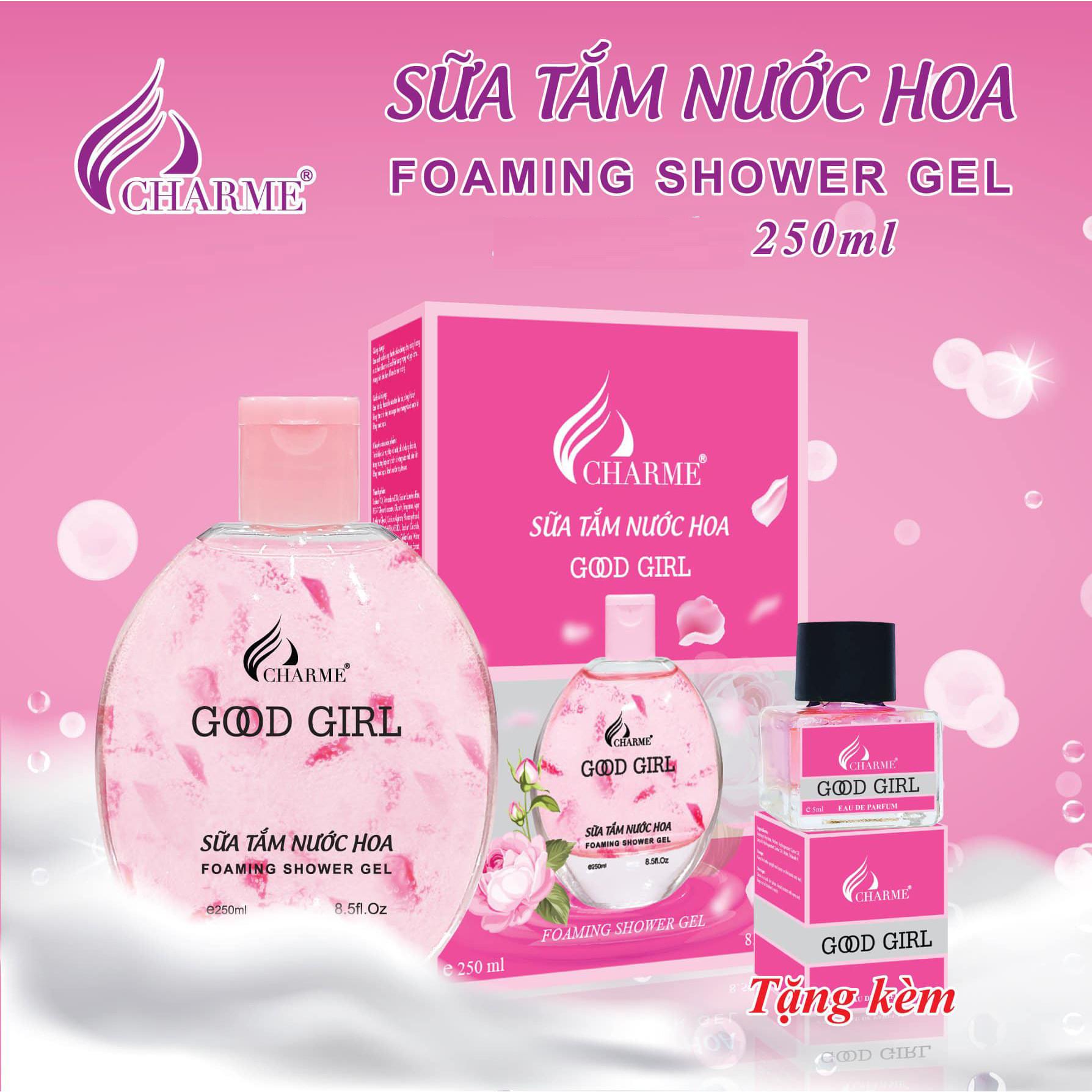 Sữa tắm hương nước hoa Charme Good Girl 250ml