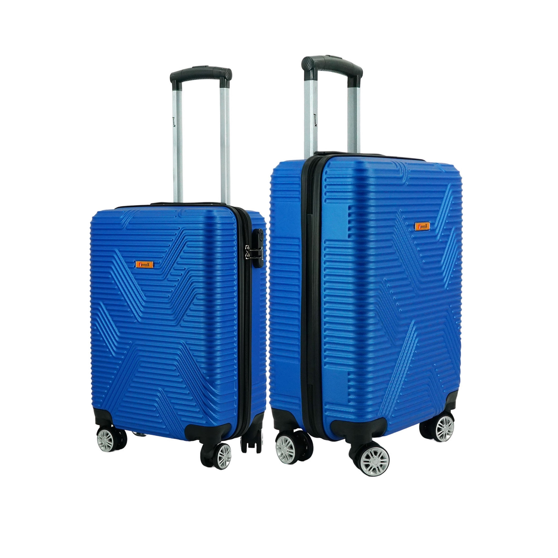 Bộ 2 vali nhựa kéo size 20inch + 24 inch i'mmaX X11