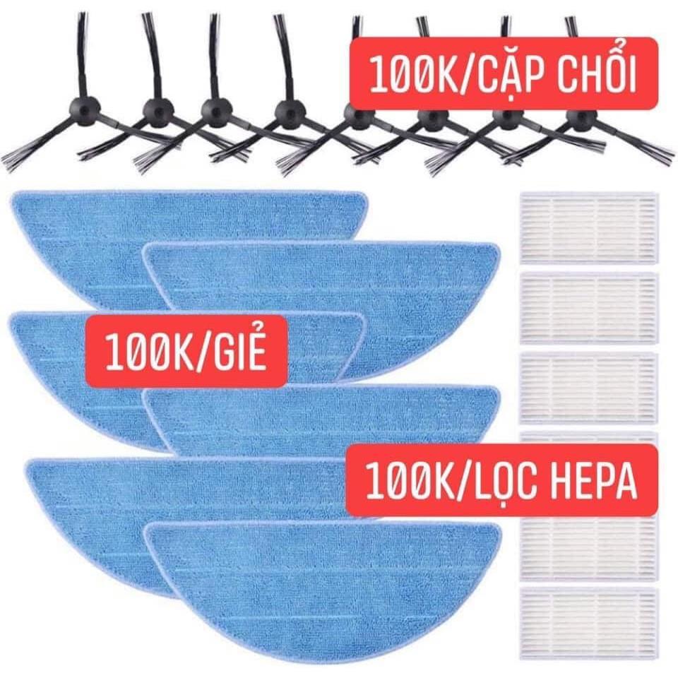 Giẻ lau - Phụ kiện thay thế cho robot Medion 18500, 18501, 19511, 19510