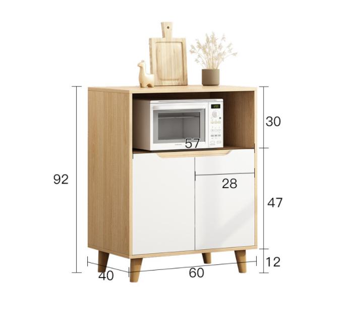Tủ kệ lò vi sóng cho phòng bếp sang trọng FNL - 118.41