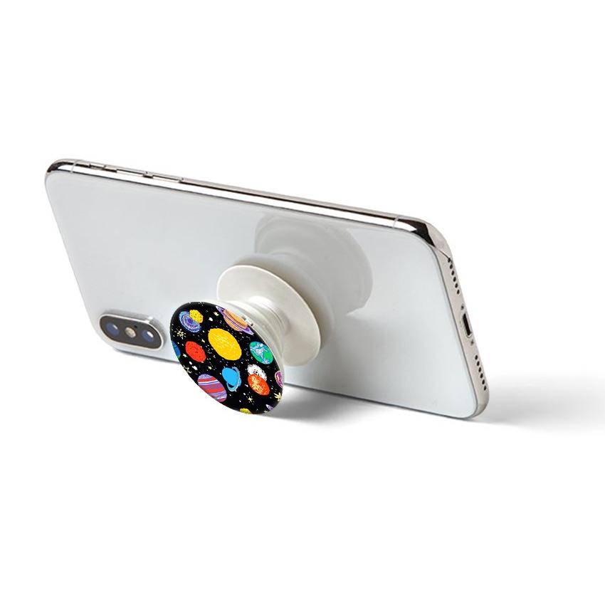 Gía đỡ điện thoại đa năng, tiện lợi - Popsockets - In hình GALAXY 03 - Hàng Chính Hãng