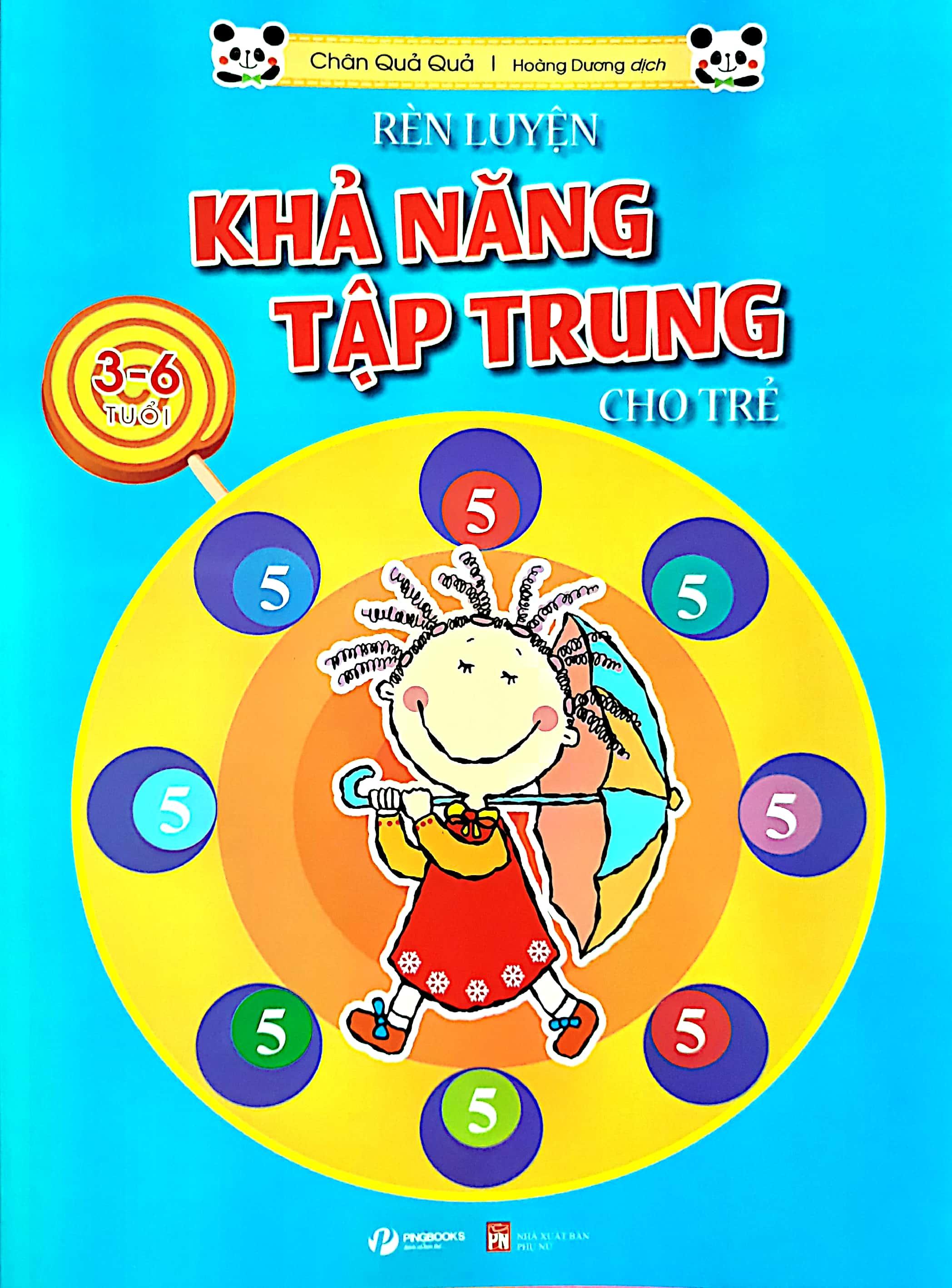 Rèn Luyện Khả Năng Tập Trung Cho Trẻ 3-6 Tuổi Tập 5