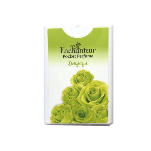 Combo 3 chai nước hoa bỏ túi Enchanteur Delightful 18ml*3