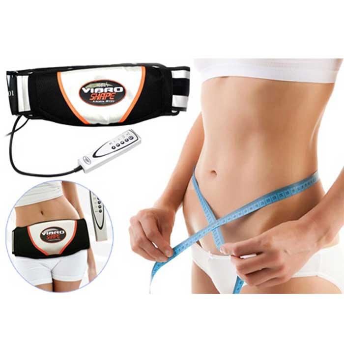 Đai massage hỗ trợ giảm mỡ bụng Vibro Shape Đen