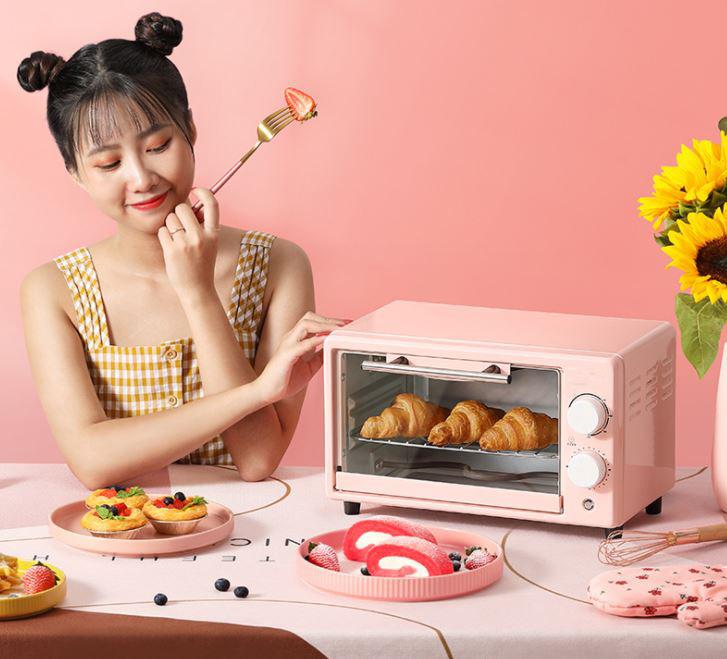 Lò Nướng Điện Tiện Lợi, Dung Tích 12 Lít, Kiểu Dáng Hàn Quốc