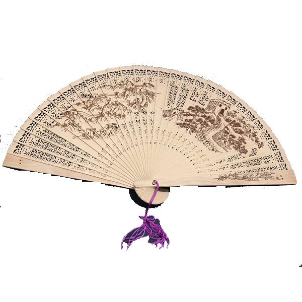 Quạt cổ trang nan gỗ thơm (5 mẫu) quạt xếp cầm tay quạt trúc cầm tay quạt phong cách cổ trang Trung Quốc in hoa trang trí tặng ảnh thiết kế vcone