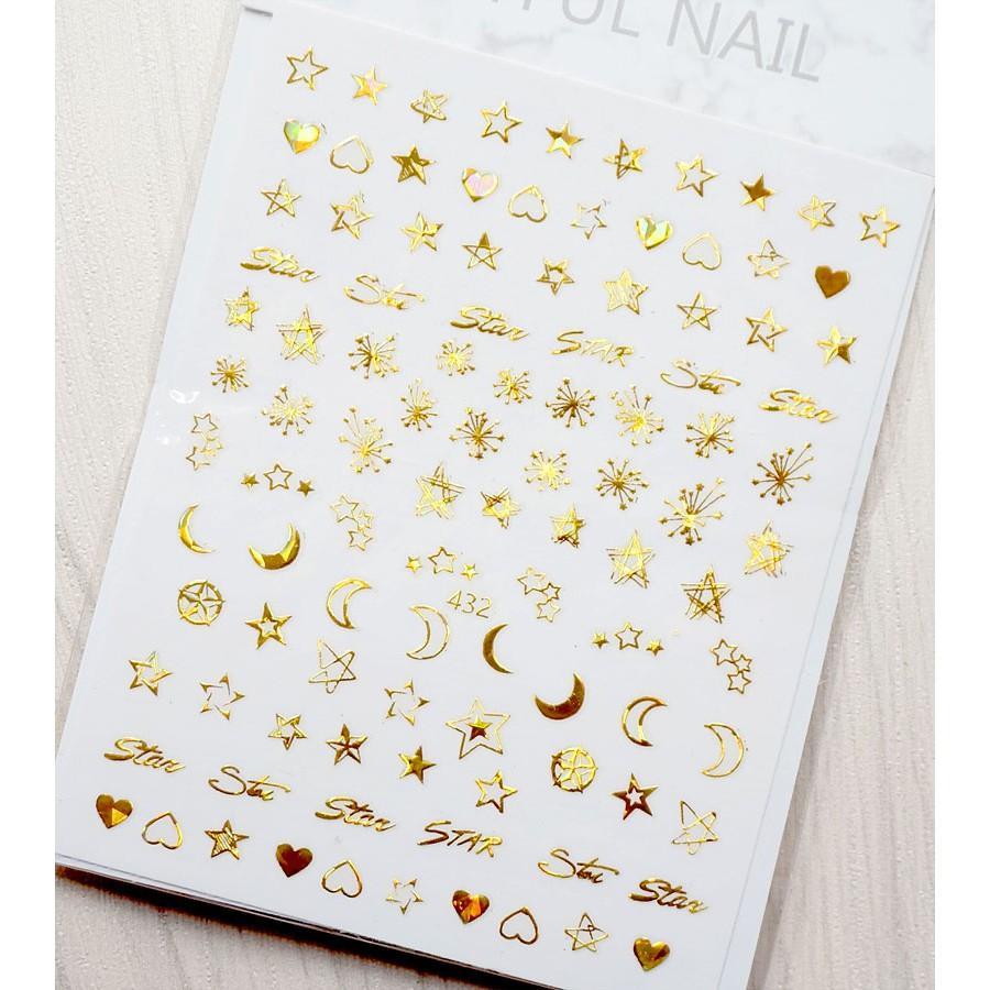 Sticker nails - hình dán móng 3D