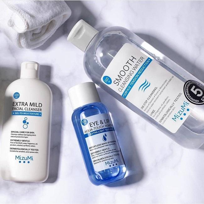 Sữa Rửa Mặt MizuMi Extra Mild Facial Cleanser 5 Free 100ml