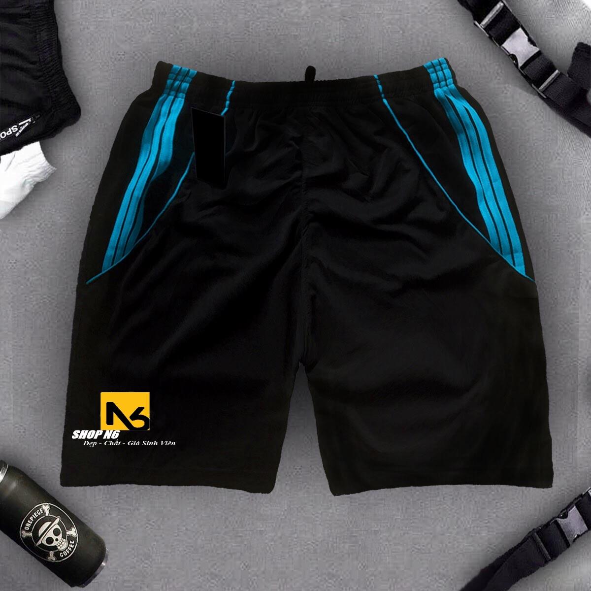Quần short nam có Big Size 115kg lưng thun co giãn 4 chiều ,quần đùi nam thể thao cao cấp ShopN6 - QSB1 (sọc ngẫu nhiên)