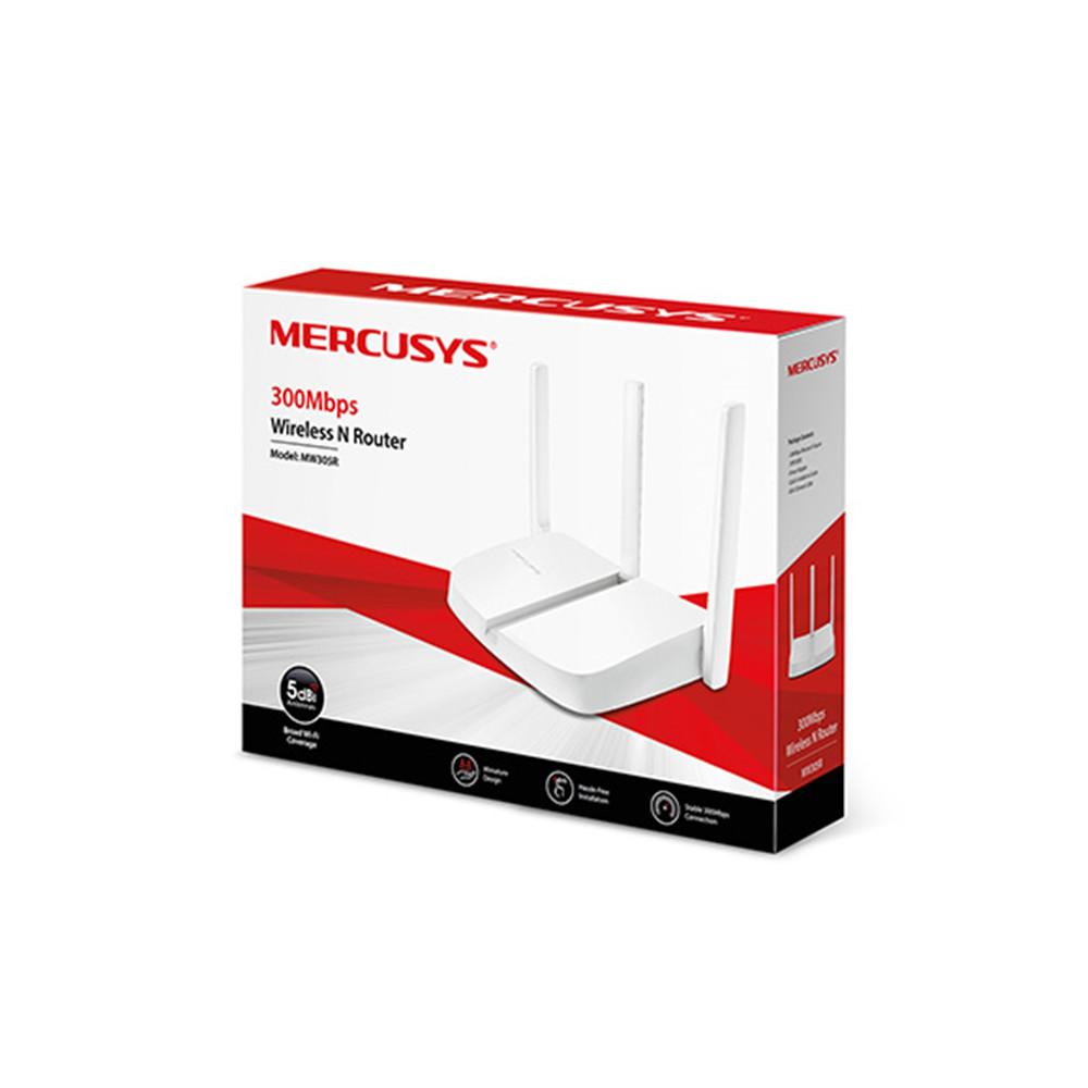 Bộ Phát Wifi Không Dây Mercusys MW305R 300Mbps 3 Dâu - Hàng chính hãng
