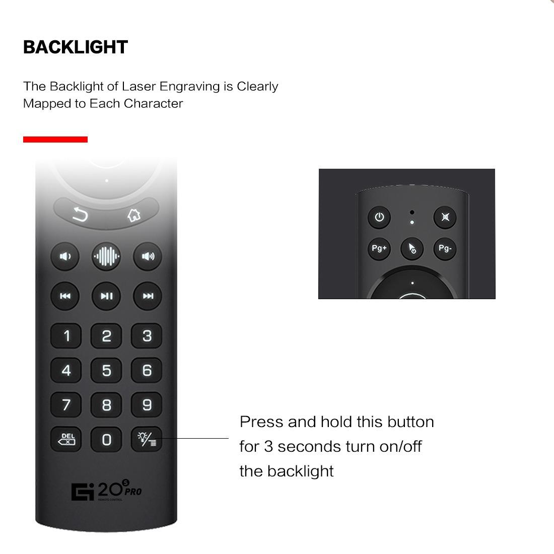Chuột Bay g20s pro bản cao cấp mic voice có điều khiển giọng nói và chuột bay đèn nền