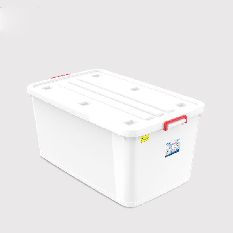 Thùng Nhựa Không Bánh Xe Duy Tân (220L) - Màu Ngẫu Nhiên