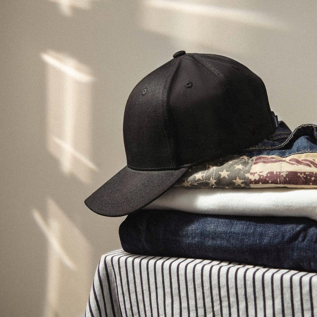 (Hàng VNXK) Nón lưỡi trai nam ĐEN TRƠN vải KAKI nhập thời trang (ẢNH THẬT)_Cap001