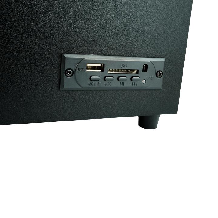 Loa Vi Tính Bluetooth Bộ Ba Loa Cao Cấp PKCB X6U M135 - Hàng Chính Hãng