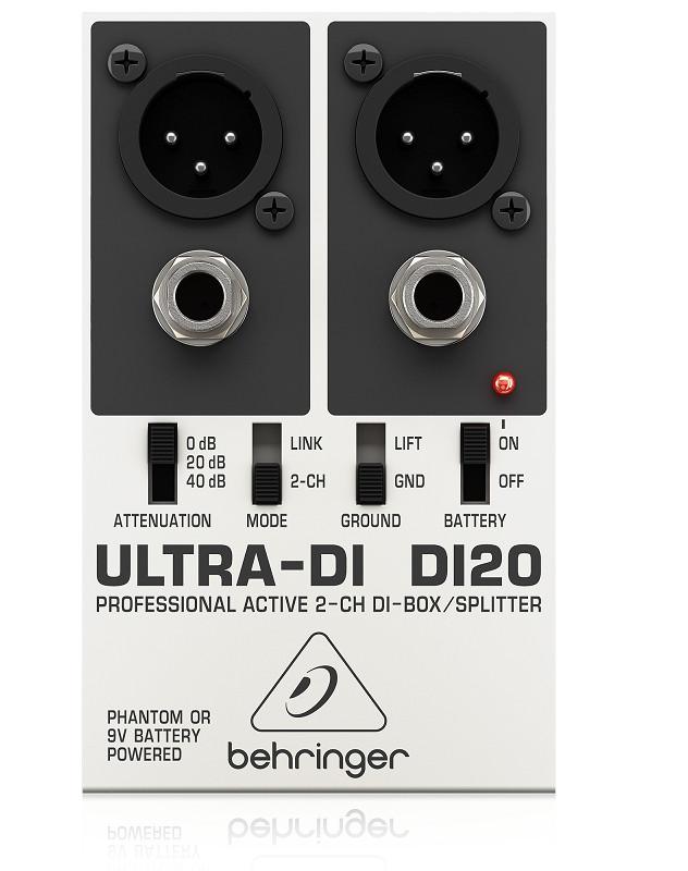 BEHRINGER DI20-DI-Box/Splitter-Hàng Chính Hãng