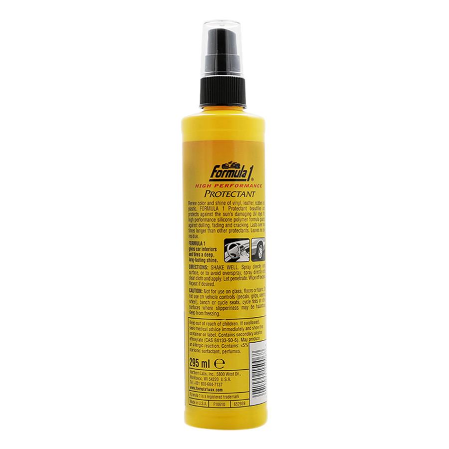 Chất Bảo Vệ Táp Lô Khử Mùi Ô Tô Formula 1 Protectant 615006 (295ml) - Vàng