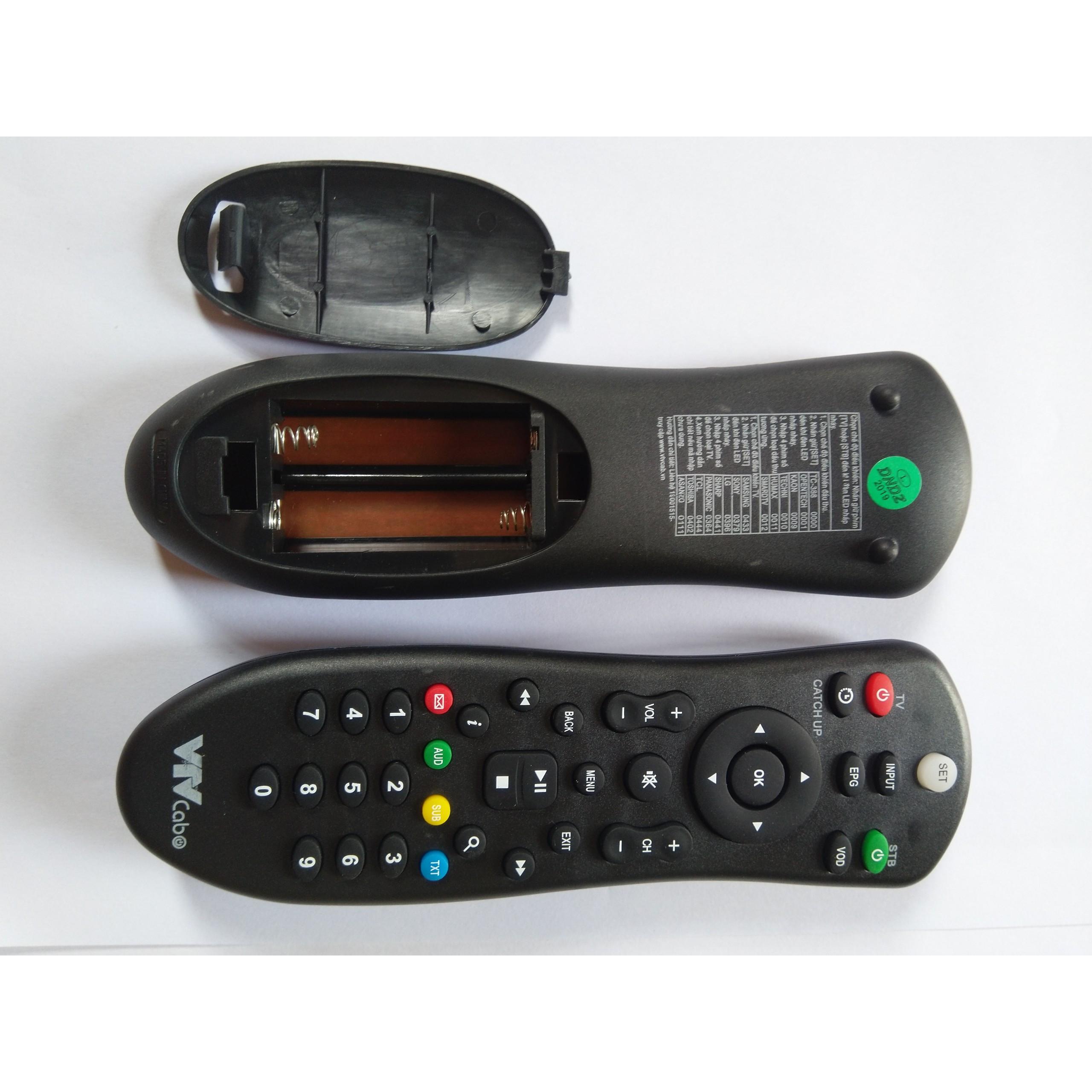 Điều khiển đầu thu VTVcab - Hàng chính hãng