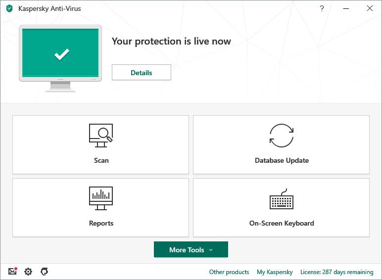 Phần mềm diệt Virus KASPERSKY ANTIVIRUS 2019 (KAS 2019) cho 1PC/Năm - PP Chính hãng