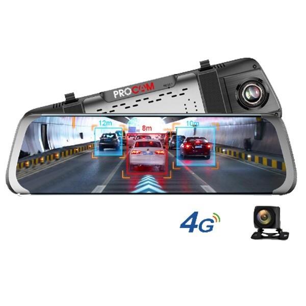 Camera hành trình gương PHISUNG E08 hỗ trợ 4G