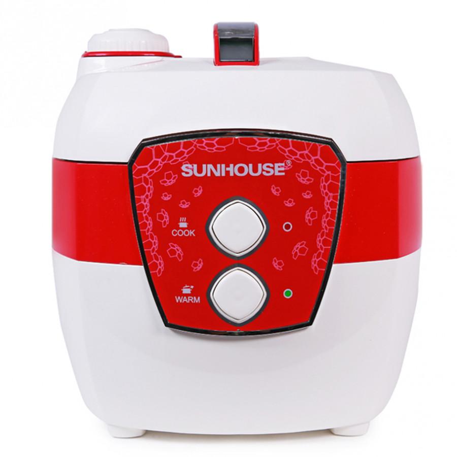 Nồi Cơm Điện Sunhouse SHD8620 (1.8L) - Trắng Đỏ - 5701097500620,62_156179,1220000,tiki.vn,Noi-Com-Dien-Sunhouse-SHD8620-1.8L-Trang-Do-62_156179,Nồi Cơm Điện Sunhouse SHD8620 (1.8L) - Trắng Đỏ