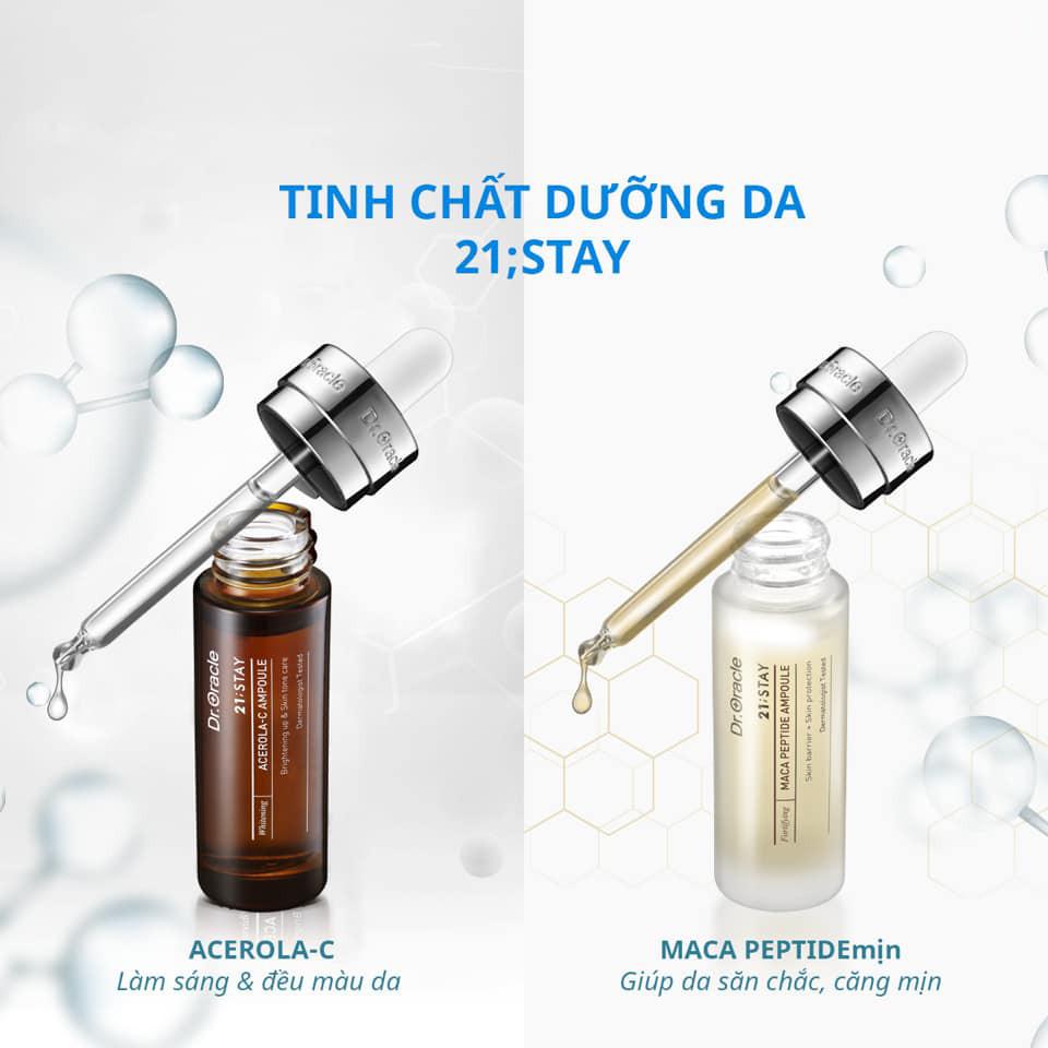 Tinh Chất Ampoule Hàn Quốc Maca Peptide 21;STAY 17ml