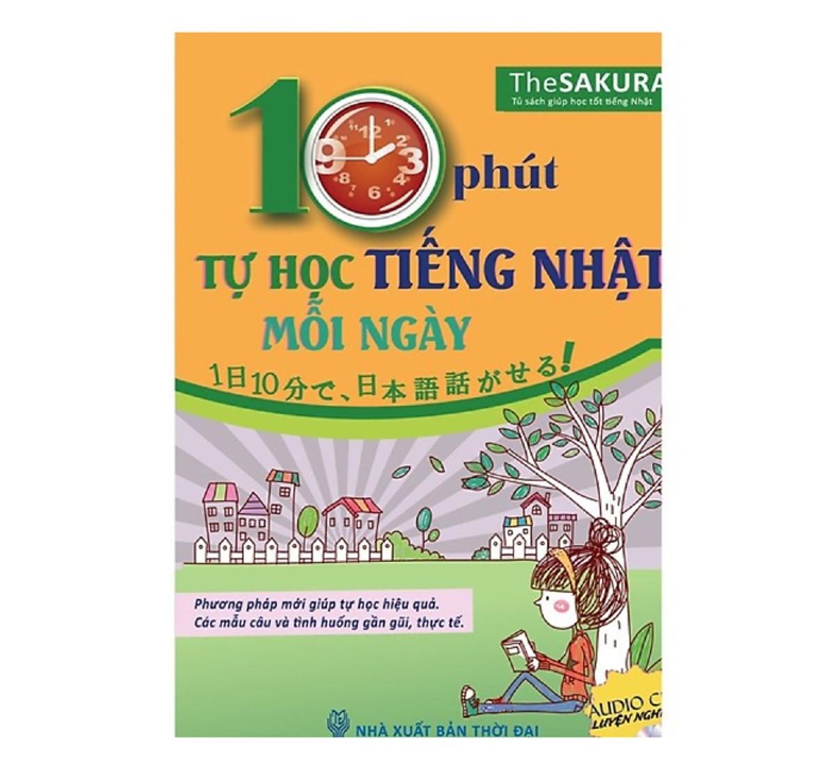 Combo Tự Học Tiếng Nhật Dành Cho Người Mới Bắt Đầu(Tặng kèm booksmark)